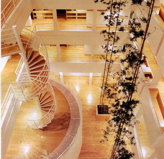 escalier sur mesure acier bois agence BDDP