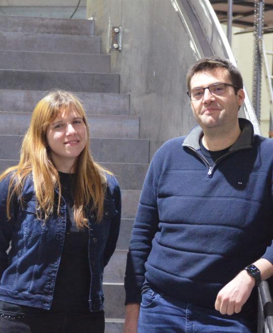 Anne-Sophie Favraud et Matthieu Favraud Escaliers REM
