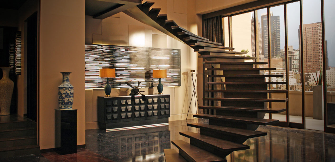 Escalier balance sur mesure