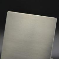Echantillon aluminium brossé