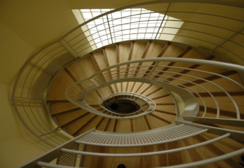 escalier ovoide photo