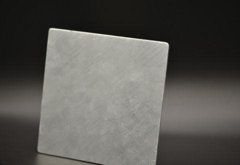 Echantillon galvanisation sur acier