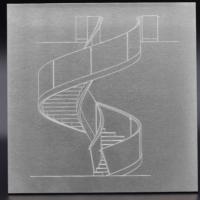 gravure sur acier escaliers sur mesure