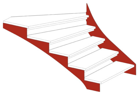 Limon escalier schema