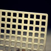 echantillon tole perforce carree laiton