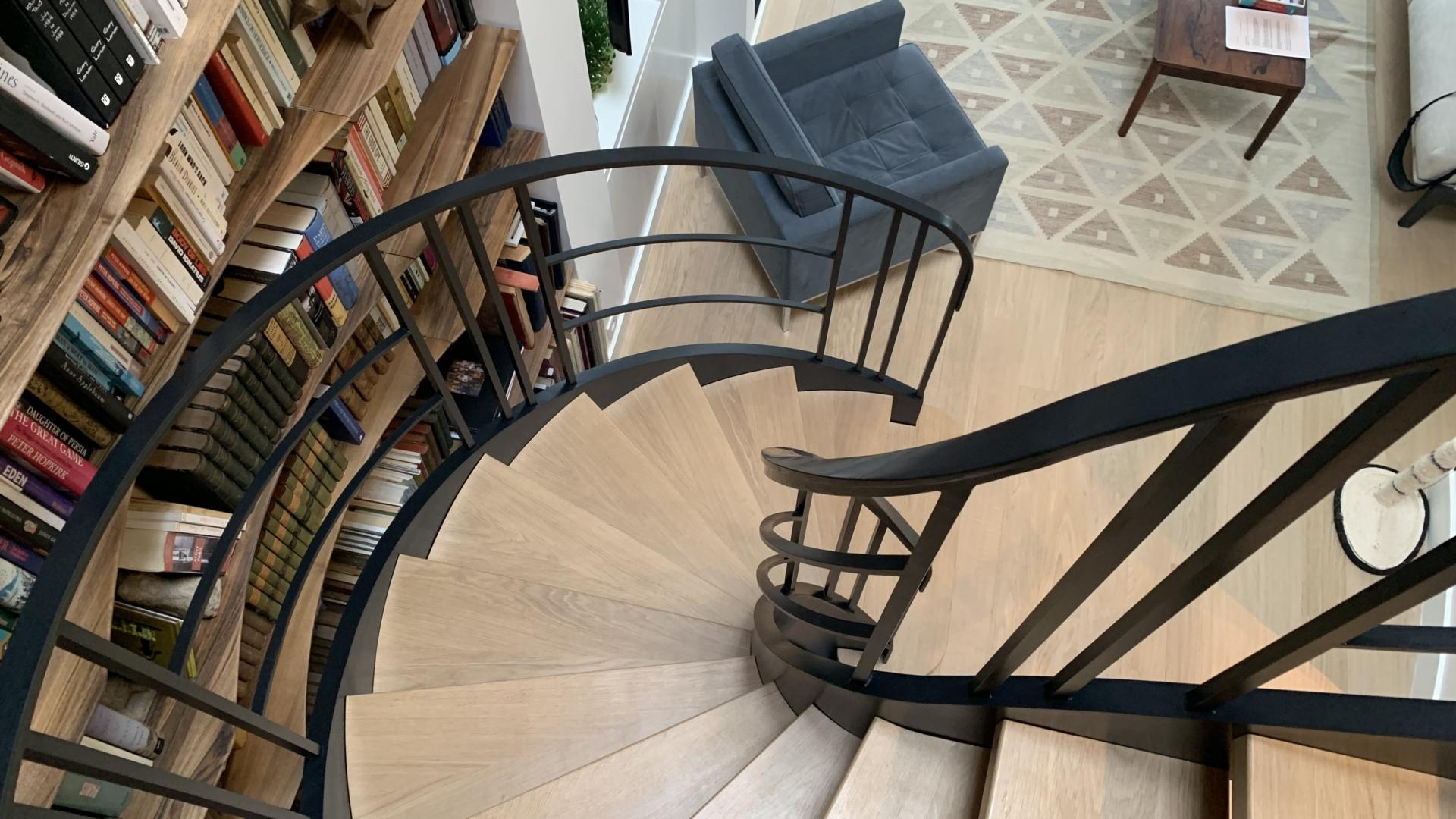 lexique escalier balance acier et bois