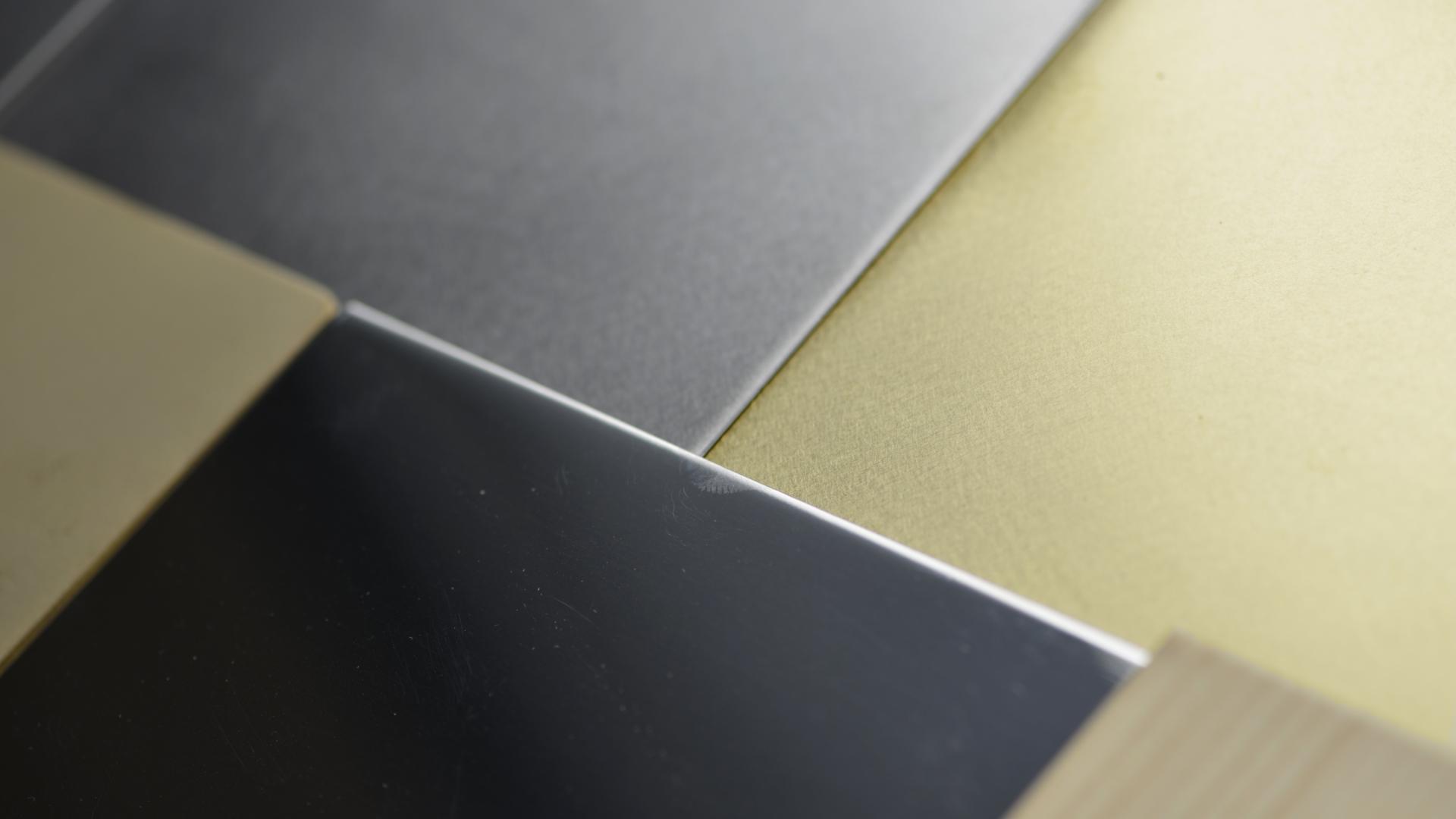matériauthèque échantillons laiton acier bois escaliers