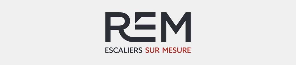 Logotype représentant la nouvelle identité de REM : année 2020.