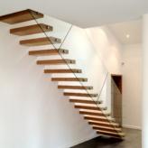 escalier autoportant sur mesure villa privée