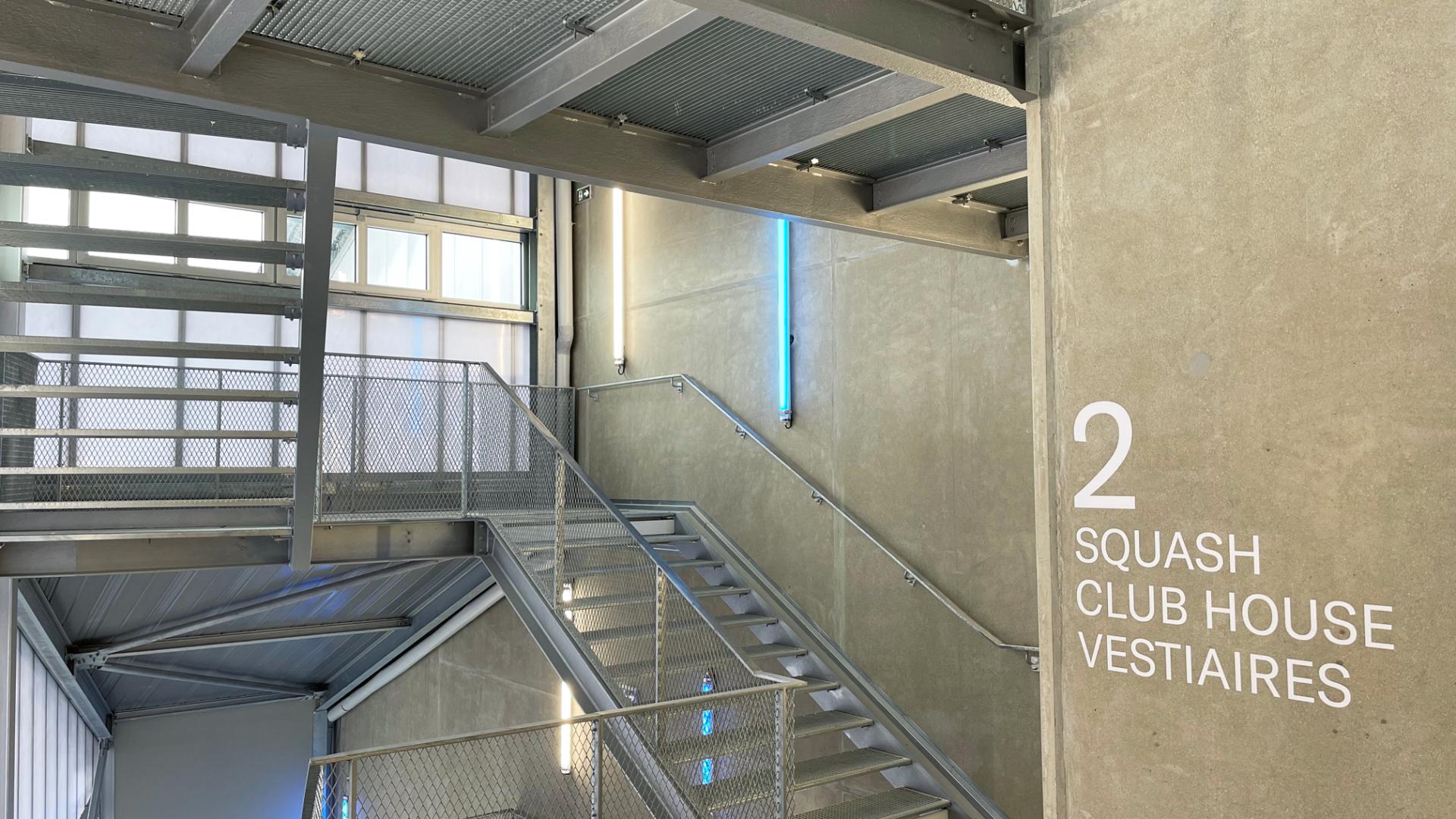 escaliers industriels sur mesure acier glavanise