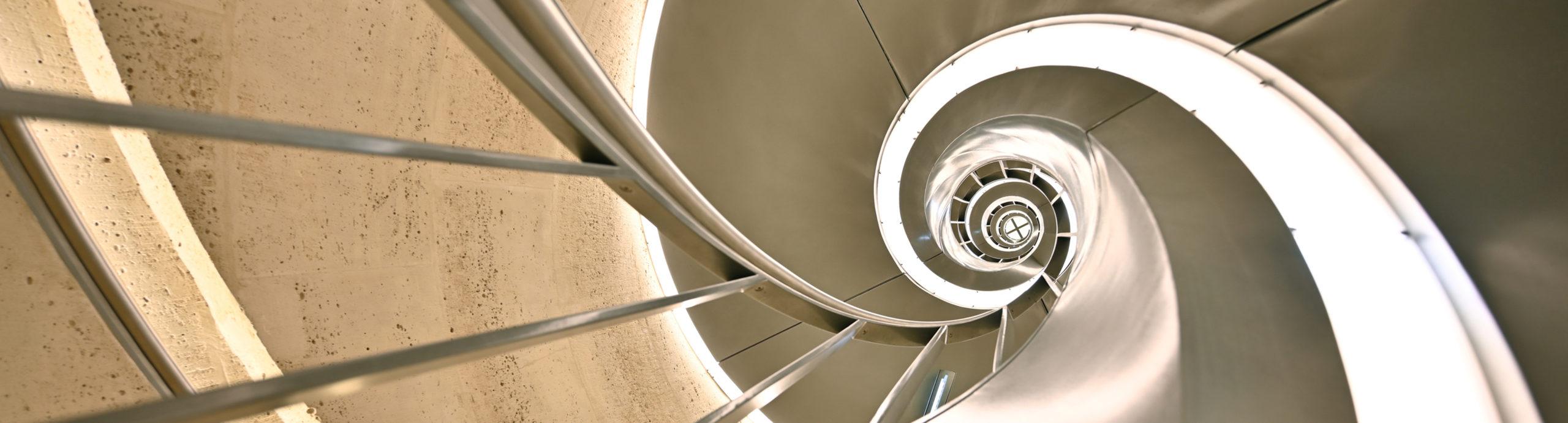 escalier Arc de Triomphe chatillon architectes