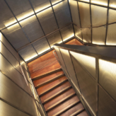 escalier laiton escalier acier bois escalier metal