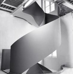 escalier ruban courbes élégantes escalier sur mesure