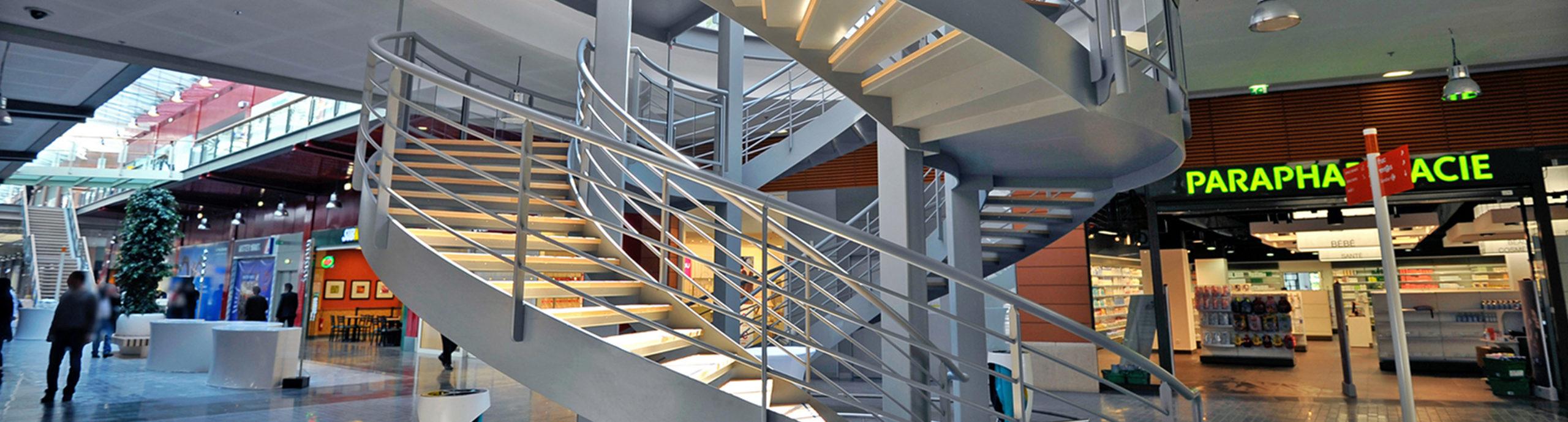 escalier double révolution Chambord vinci millénaire